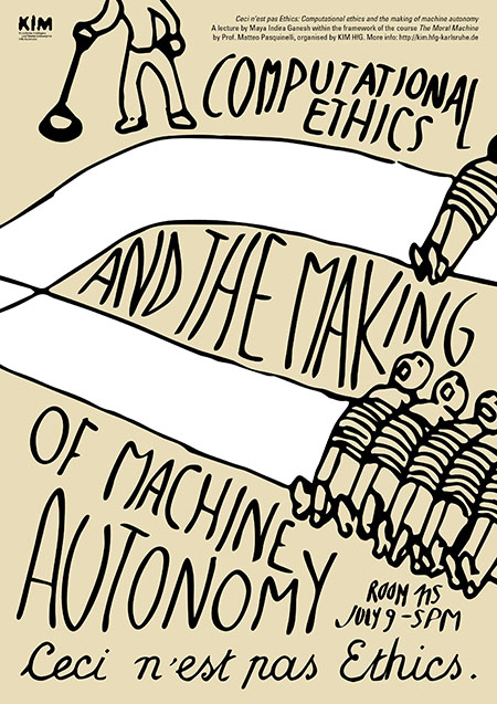 Ceci n'est pas Ethics: Computational ethics and the making of machine autonomy