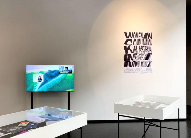 Women in Computation at HfG Rundgang 2019