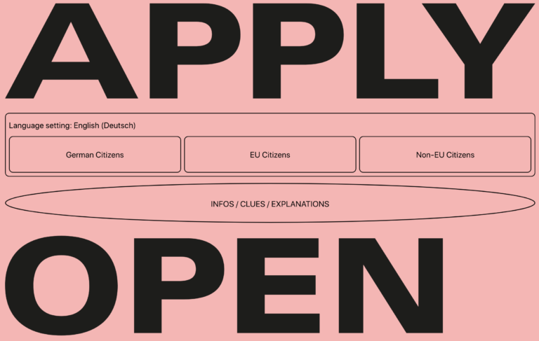 Study the future at HfG: Open application